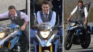 Tom Cruis ride 'Made In India' Bike in 'MI7'