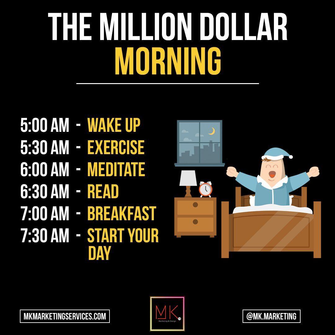 Entrepreneur Daily Routine
