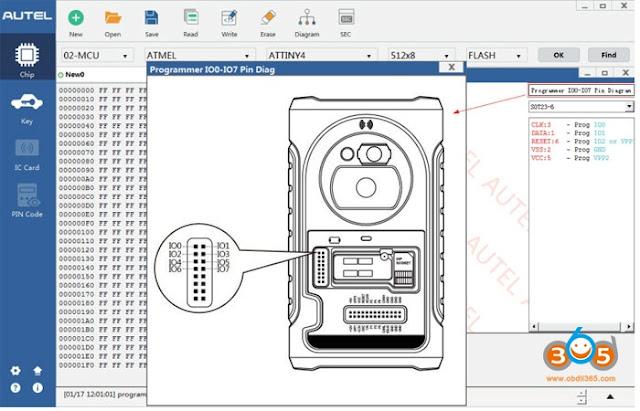 autel-XP400-cablaggio-diagramma-3