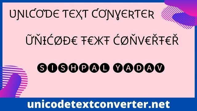 Unicode Text Converter