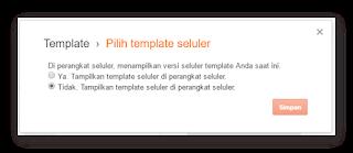 Ganti template