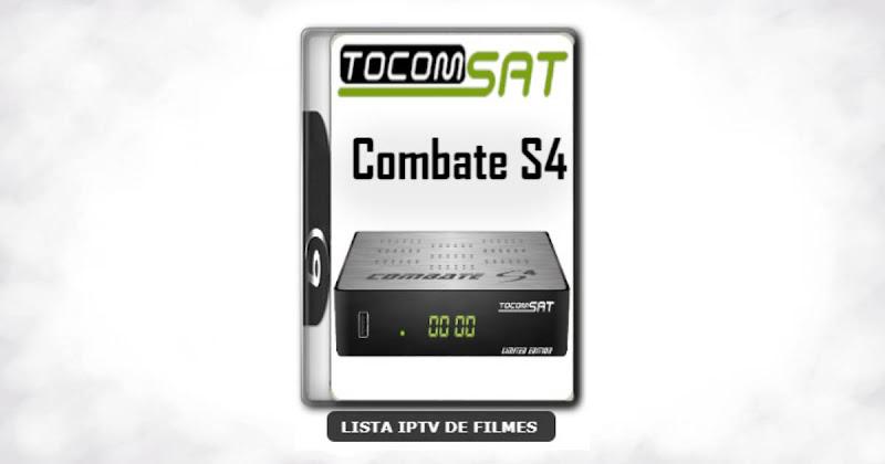Tocomsat Combate S4 Nova Atualização Satélite SKS Keys 61w ON V01.005