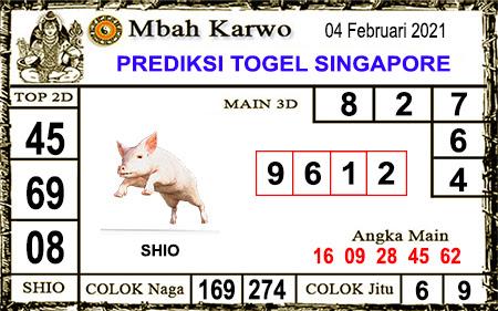 Prediksi Mbah Karwo SGP45 Kamis