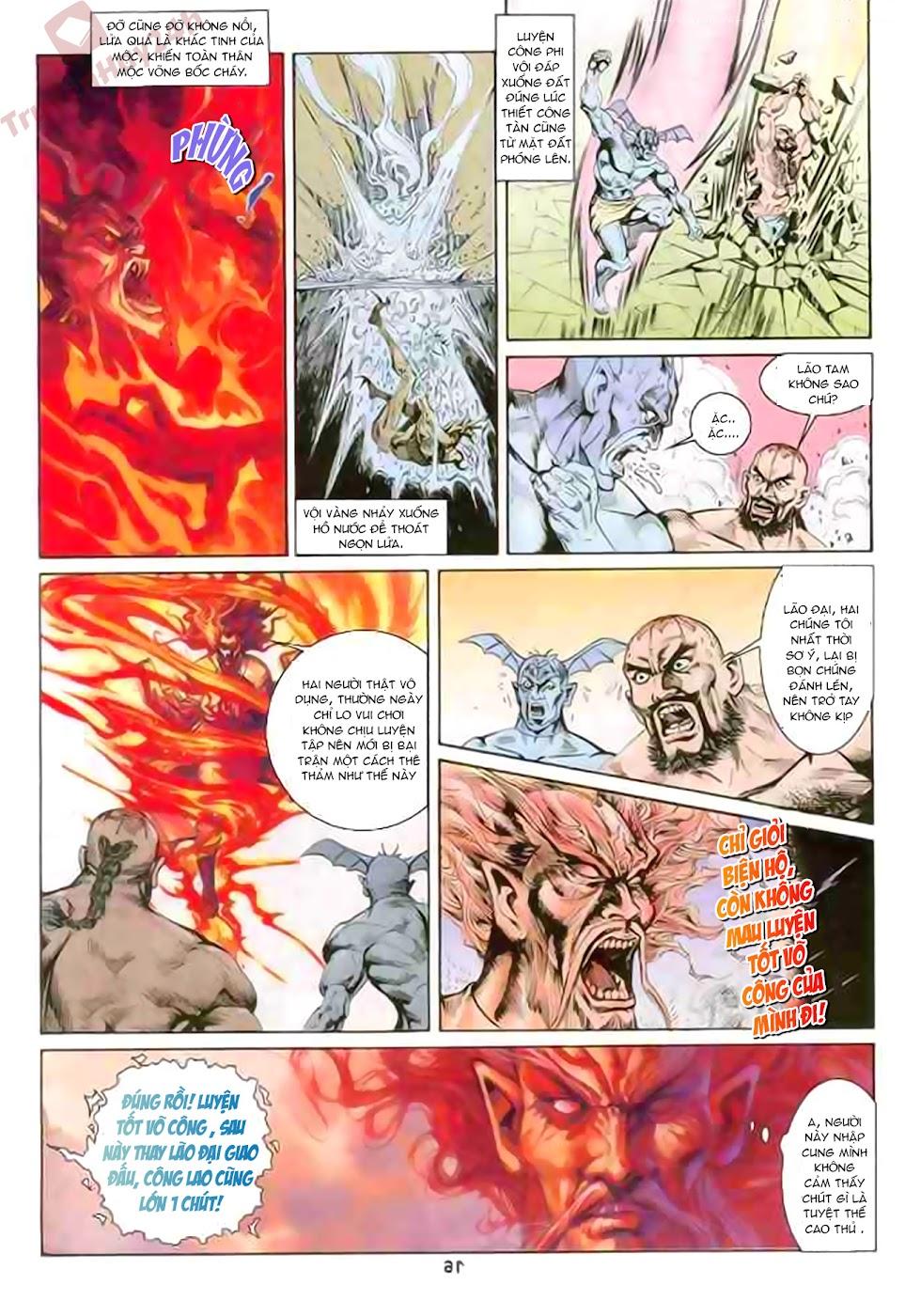 Cơ Phát Khai Chu Bản chapter 86 trang 17