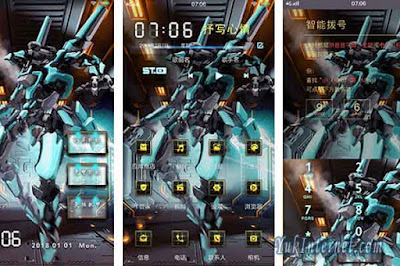 download tema vivo alien robot