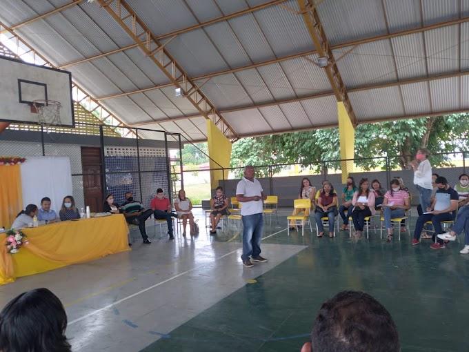 Anapurus: Secretaria de Educação traça metas para recuperação de alunos infrequentes e término do ano letivo de 2020