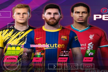 PES 2020-2021 PPSSPP Android Offline Camera PS4 Real Face & HD Graphics [New Transfers 2020 & Menu 500MB]