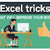7 Excel tricks to impress your boss