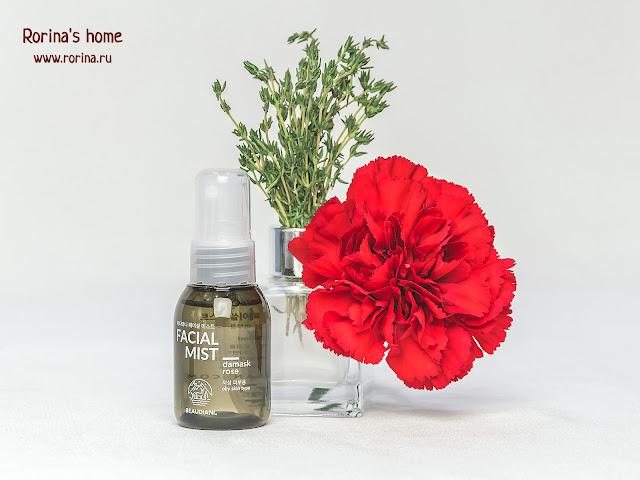 Мист для лица дамасская роза