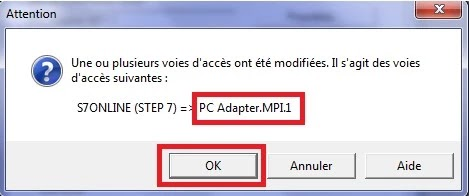 S7ONLINE STEP7 TO PC ADAPTER MPI