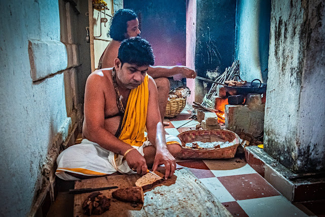 Podapitha preparation for Bahuda Jatra