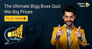 Flipkart Bigg Buzz Challenge Answers