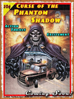 Curse of the Phantom Shadow - Poster