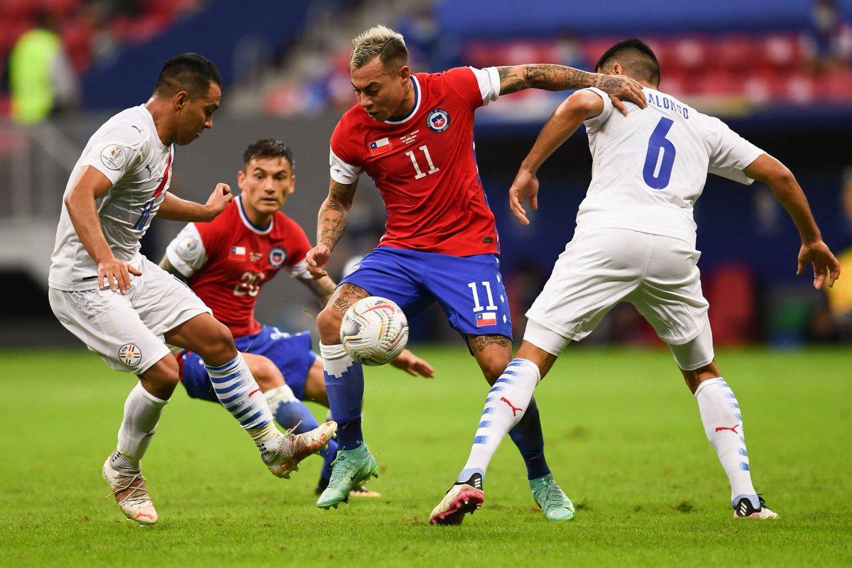 Chile y Paraguay en Copa América 2021, 24 de junio