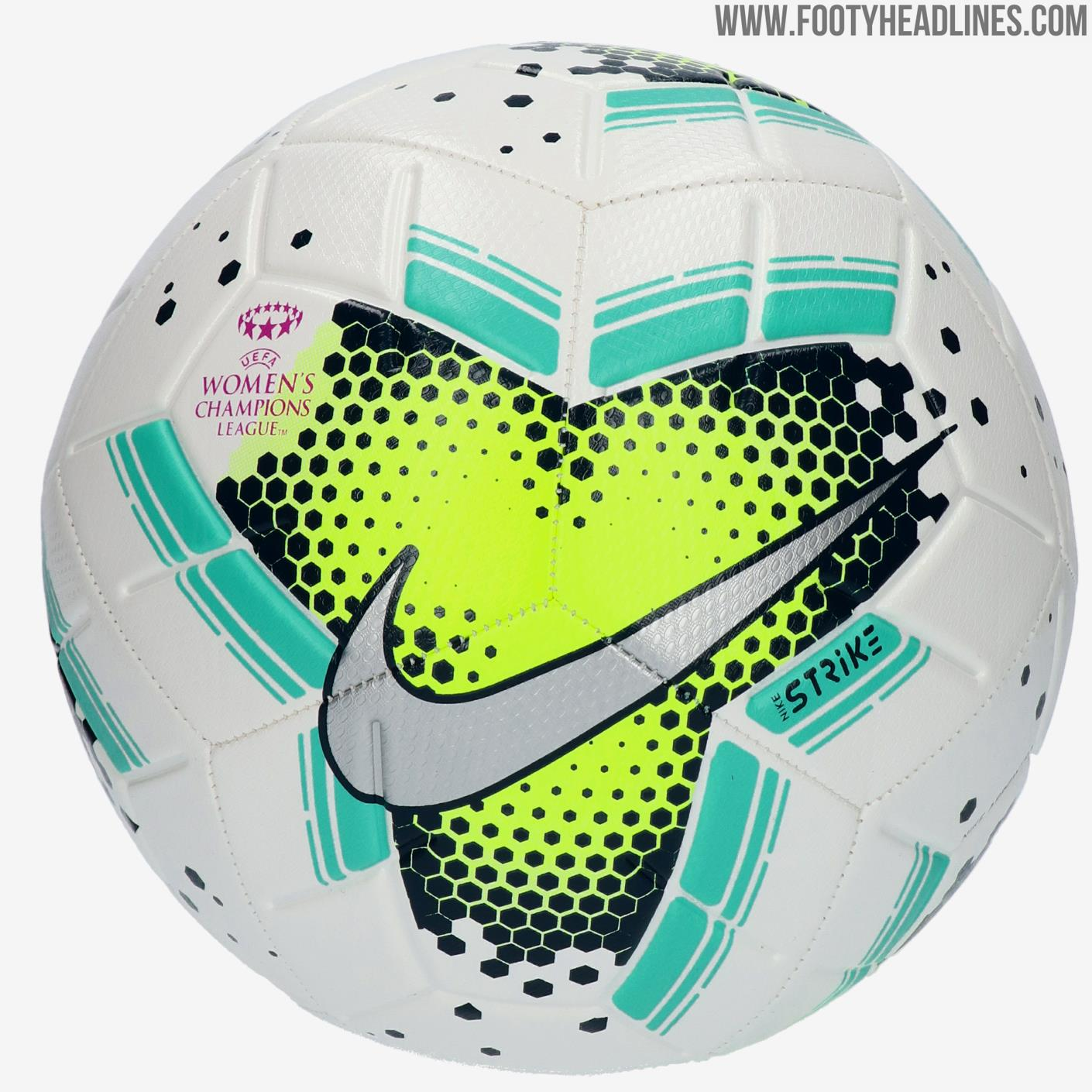 Nike UEFA Women's Champions League 2020 Ball Released ...