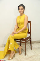 Taapsee Pannu looks mesmerizing in Yellow for her Telugu Movie Anando hma motion poster launch ~  Exclusive 022.JPG