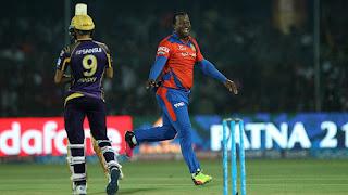 Dwayne Smith 4-8 - GL vs KKR 51st Match IPL 2016 Highlights