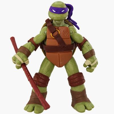 JUGUETES - LAS TORTUGAS NINJA  Donatello | Figura - Muñeco | Básica Serie 1  Producto Oficial | Playmates | A partir de 4 años