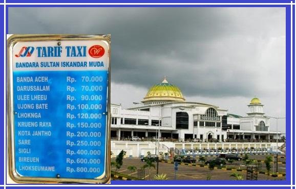 Info Tarif, Rute dan Jadwal Damri Bandara Sultan Iskandar Muda Banda Aceh