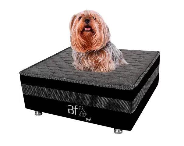 Caminha Pet Cama Box com Lençol Impermeável para Cachorros e Gatos