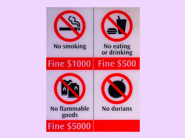 5 luật lệ kỳ lạ ở Singapore khiến du khách bất ngờ