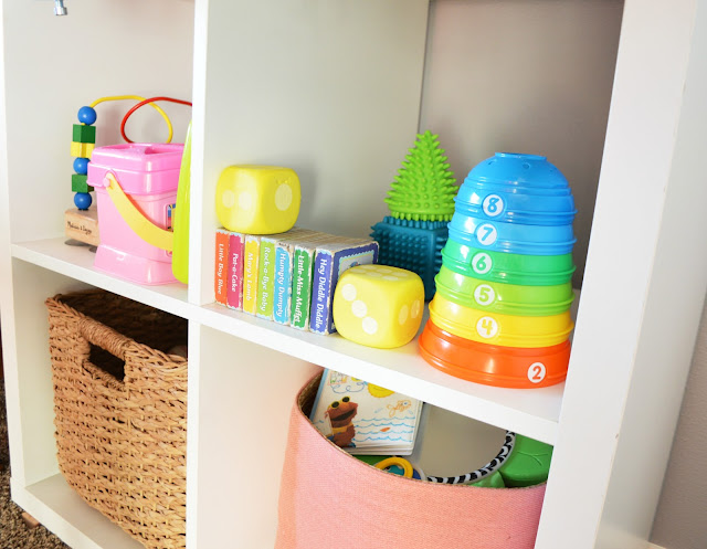 DIY At Home Preschool Learning and Activity Center by Orchard Girls Blog