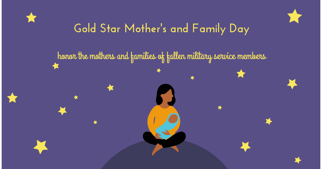 Gold Star Mother's and Family Day Wishes