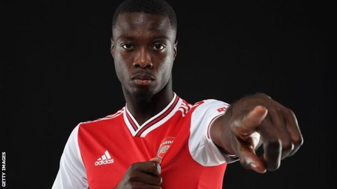 Nicolas Pepe: Arsenal sign Lille winger for club record fee