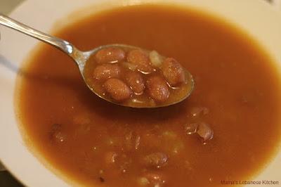 In Lebanon this dish is commonly known as Vegetarian Fasolia Beans Stew Recipe – Fasolia bi Zait