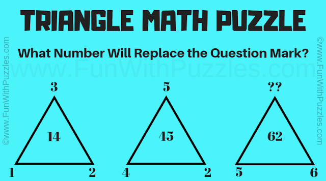 Can you find the value of the missing number in triangle?