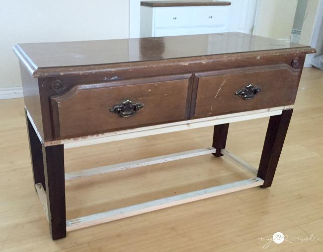 storage bench adding bottom shelf supports