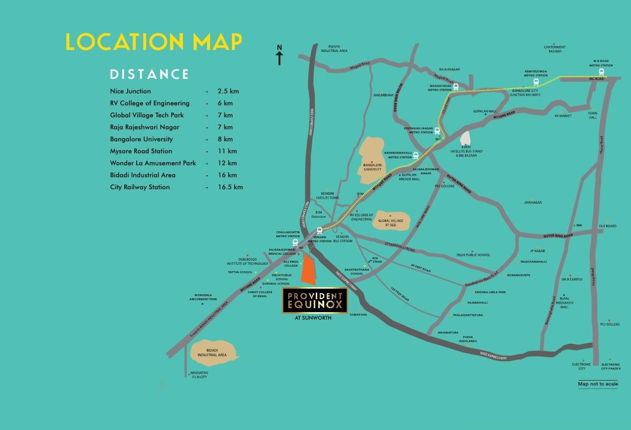 provident equinox location map