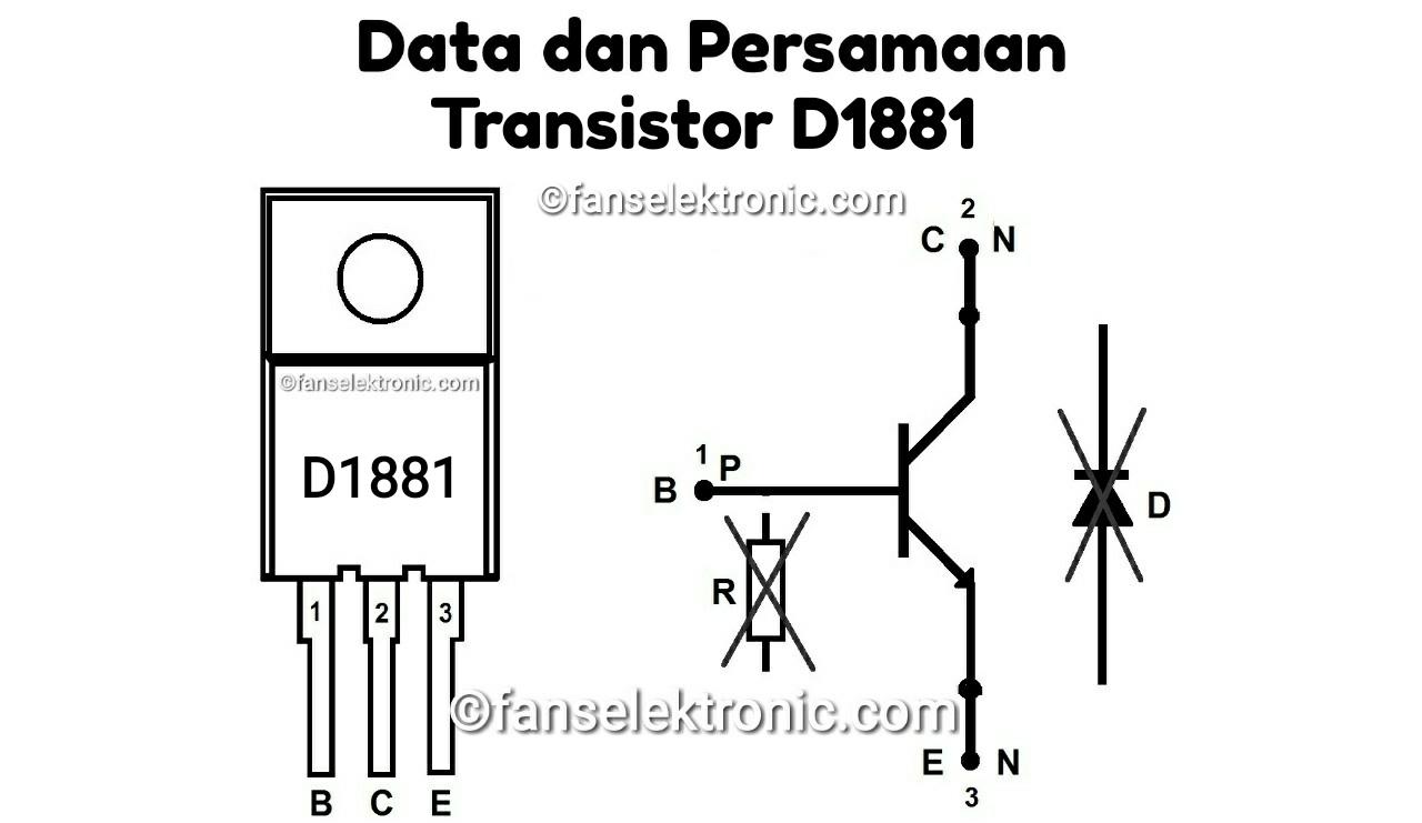 Persamaan Transistor D1881