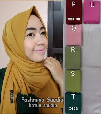 Model Jilbab Pashmina Saudia