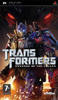 Transformers Revenge of the Fallen [PSP] ISO [MEGA]