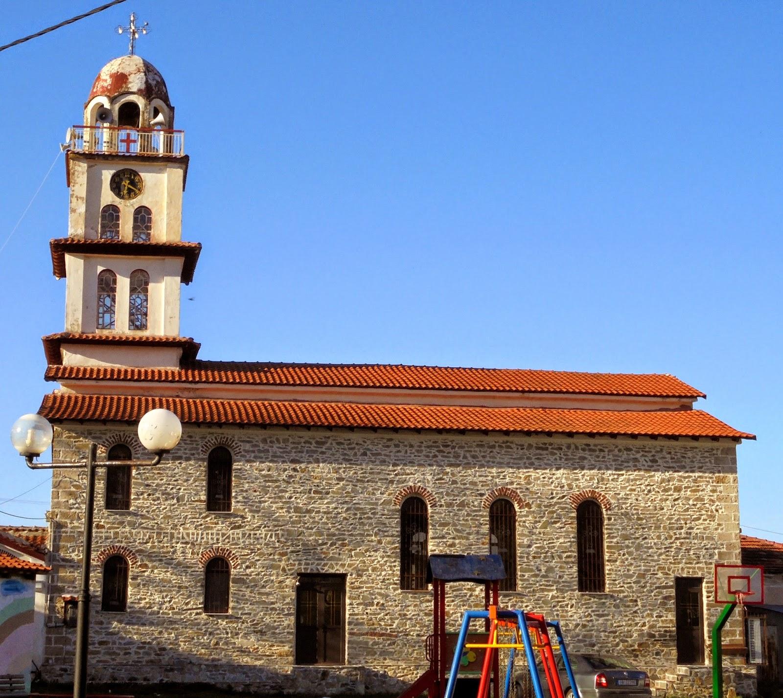 ο ναός της αγίας Θέκλας στο Μηλοχώρι Εορδαίας