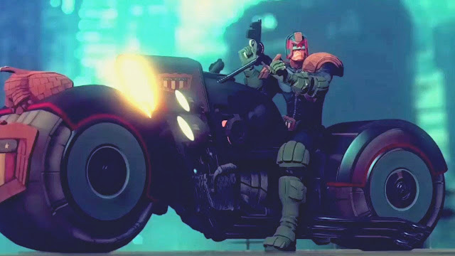 Judge Dredd Animation by Joan Cabot for Studio AiXA