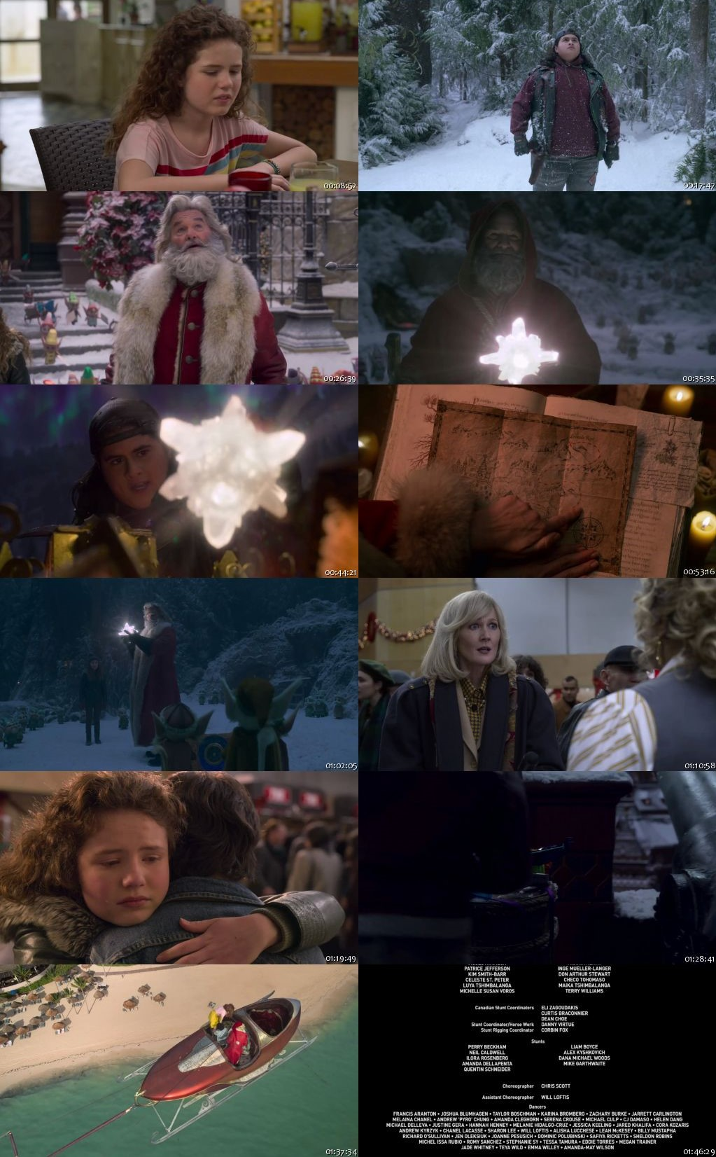 The Christmas Chronicles 2 2020 HDRip 720p [Hindi-English]