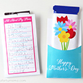 Mother's Day Candy Wrapper