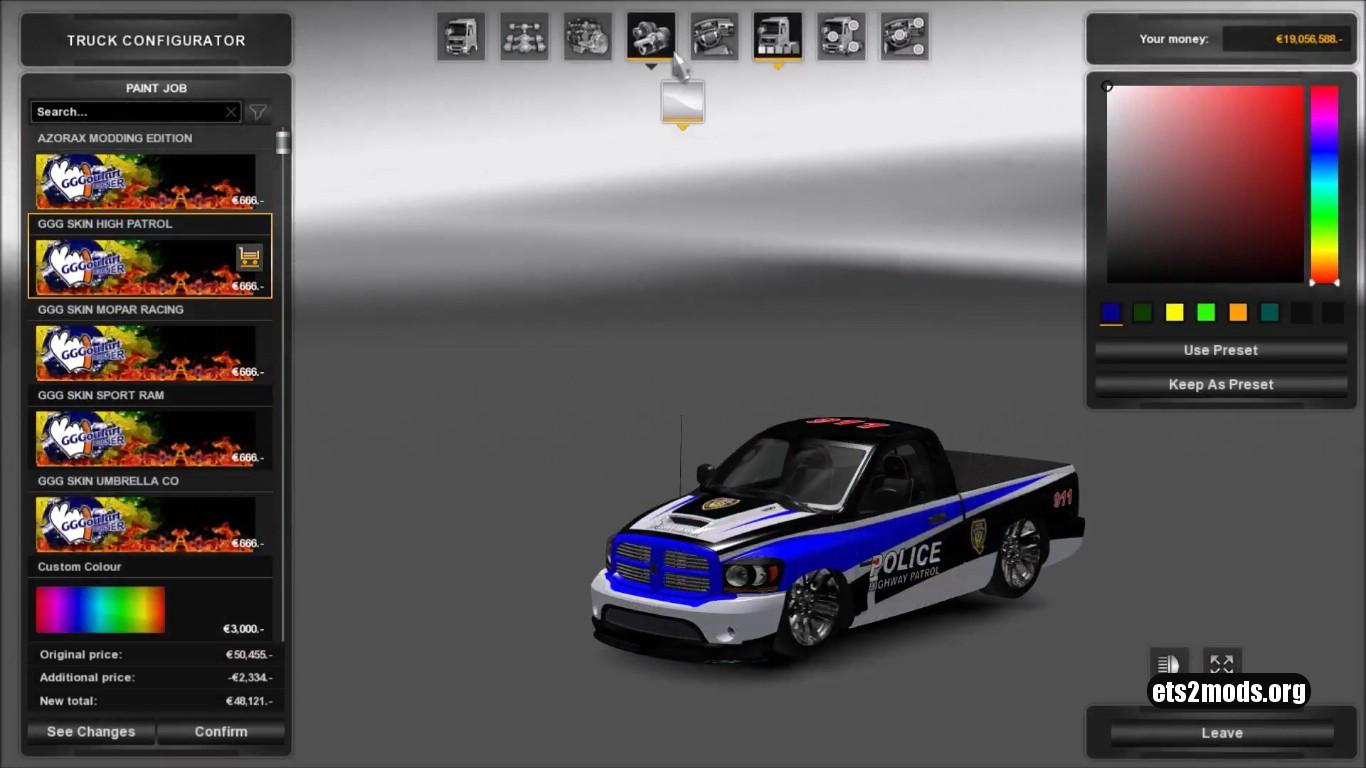 Car - Dodge Ram V 1.0