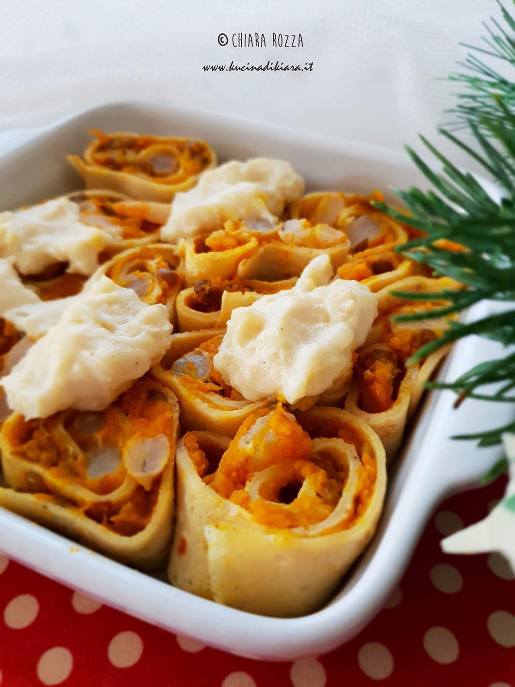 Cosa Cucinare Il 24 Dicembre crespelle al ragù di lenticchie e gamberi | kucina di kiara