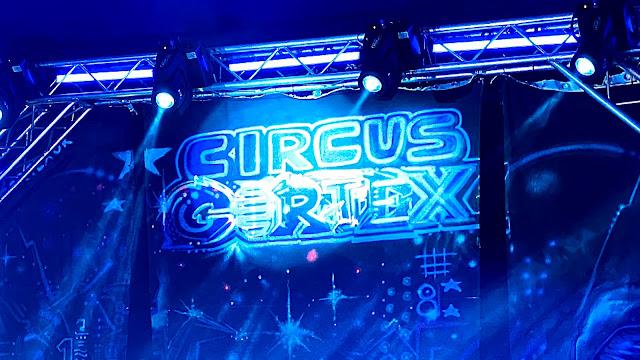 the circus cortex tent back drop