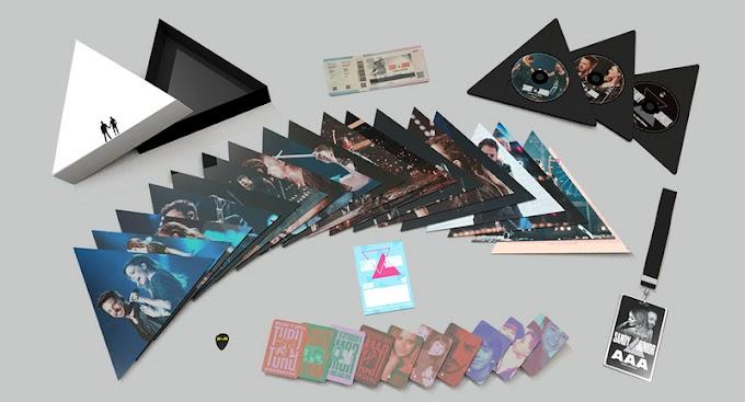 Umusic Store lança box deluxe da turnê nacional de Sandy e Junior 'Nossa História'
