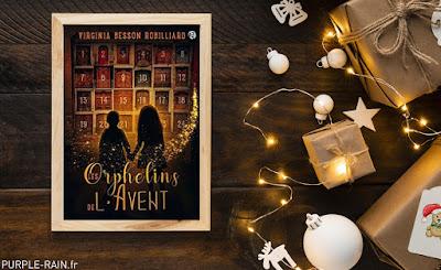 Livre : Les Orphelins de l'Avent •• Virginia Besson Robilliard