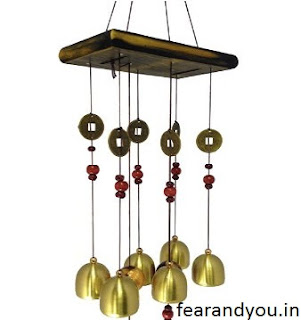 Feng Sui Metal and Wooden Chimes