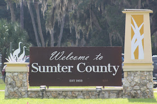 Entrando en Sumter County