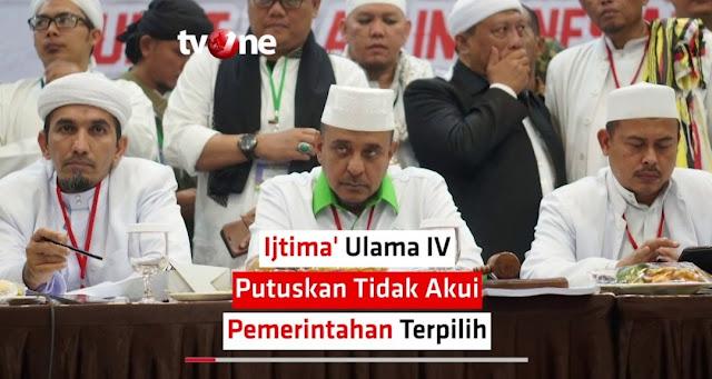 Perjuangan Rakyat Nusantara (Pernusa): Ijtima Ulama IV Tindakan Makar