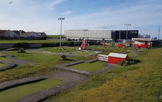 Crazy Golf course on Bastion Road in Prestatyn