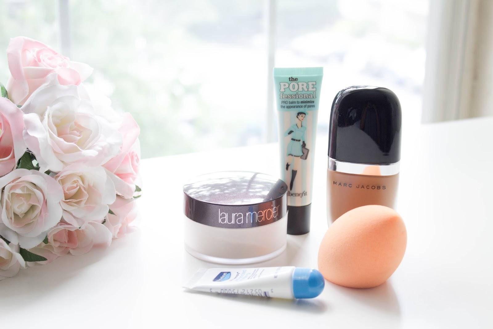 beauty, make-up, flowers, faux flowers, beauty blender, beauty sponge, real techniques, lip balm, vaseline,
