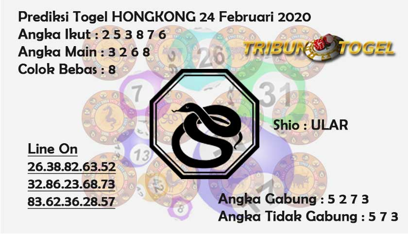 Prediksi Togel JP Hongkong 24 Februari 2020 - Prediksi Tribun Togel